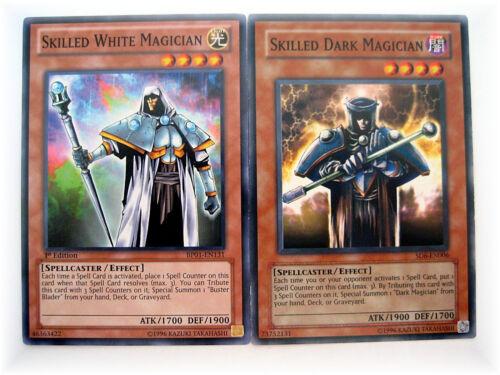 SKILLED WHITE BP01 DARK MAGICIAN YGLD** yugioh common SPELLCASTER card set NM