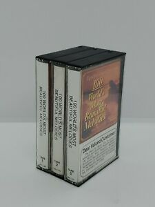 """Readers Digest """" 100 World's Most Beautiful Melodies"""" 3 Cassette Tape Set 1986"""