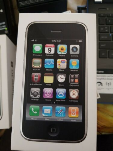 USED Apple iPhone 3G S Empty box only WHITE 32Gb