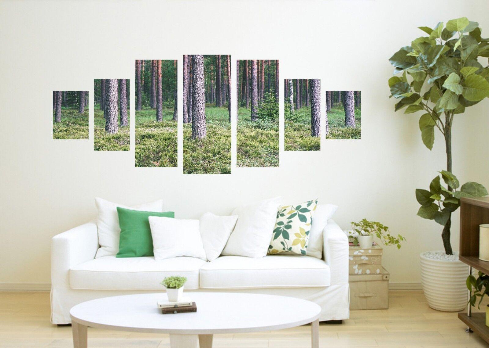 3D Tree Lawn 896 Unframed Print Wall Paper Decal Wall Deco Indoor AJ Wall Jenny