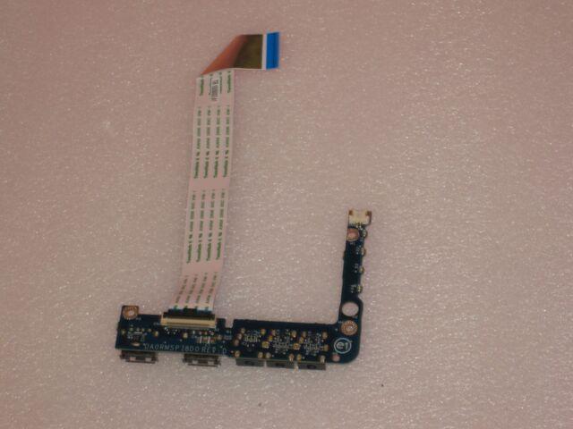 F138F Genuine Dell Latitude E5400 XPS 1640 I//O Audio USB Board W//OUT CABLE P//N