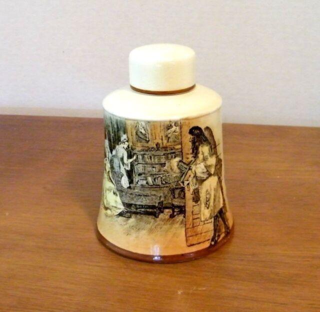 Royal Doulton 'Sir Roger de Coverley' Covered Jar