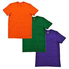 Polo Ralph Lauren Mens 3 Pack Crew Neck Undershirts Pony Logo Tshirts New