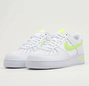 Nike Air Force 1 '07 LV8 CD1516 100 White Volt AF1 Mens