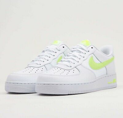 Nike Air Force 1 Low White Volt CD1516 100 Release Date SBD