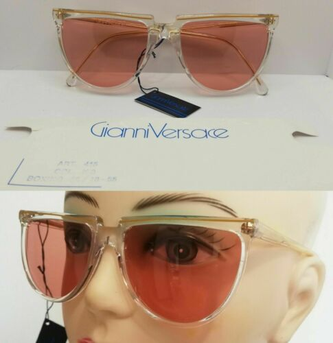 GIANNI VERSACE sunglasses NEW vintage MADE ITALY s