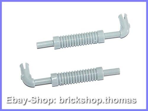 Vehicle Exhaust Pipe Light Bluish Gray NEU 14682 Lego 2 x Auspuff grau NEW