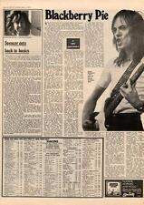 Humble Pie Blackberry MM3 Interview 1973