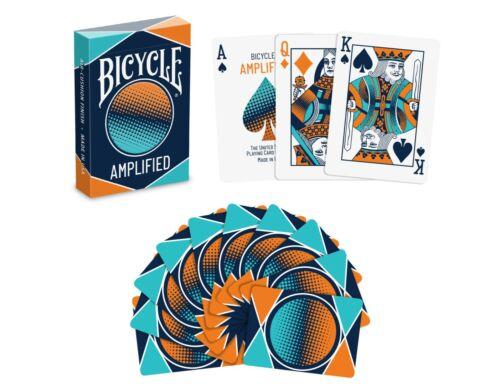 Bicycle AMPLIFIED Spielkarten Kartenspiel mit Tollem Motiv  NEU!! Made in USA