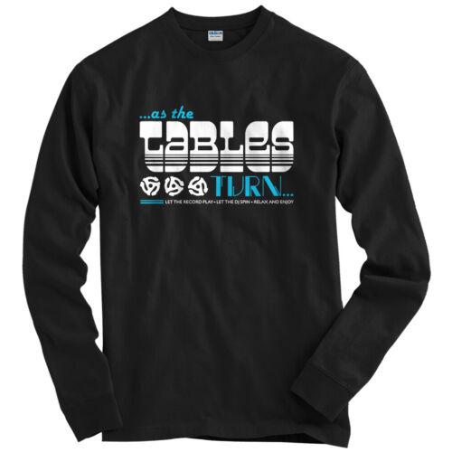 Youth Relax and Enjoy Long Sleeve T-shirt LS Turntables DJ Mix Club EDM  Men