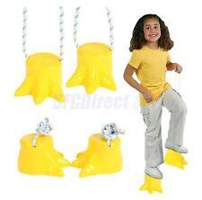 Pair Dinosaur Stilt Preschool Kids Exercise Funny Backyard Outdoor Game Toys NEW