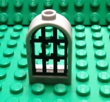 NEW Lego 1 Grey Curved Window / Castle / Harry Potter / Black Screen / 4523353