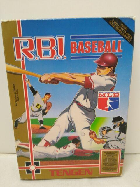 R.B.I. Baseball: Tengen (Nintendo NES, 1988)