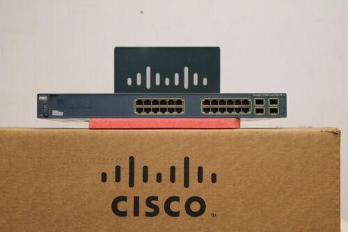 CISCO WS-C3560G-24PS-S 3560G SERIES Gigabit Switch WS-C3560G-24PS-S