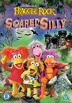 FRAGGLE ROCK - SCARED SILLY AND OTHER SPOOKY STORIES - DVD - REGION 2 UK