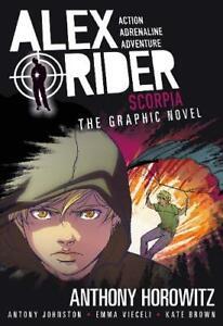 Scorpia-Graphic-Novel-Alex-Rider-Johnston-Antony-Horowitz-Anthony-Used-Ve