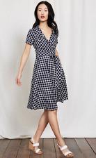 Boden Lara Wrap Dress rrp £80 Size 10R LS076 AA 01