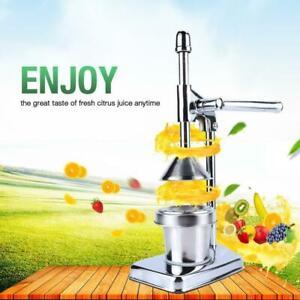 Hand Press Citrus Squeezer Fruit Juicer Manual Orange Juicer
