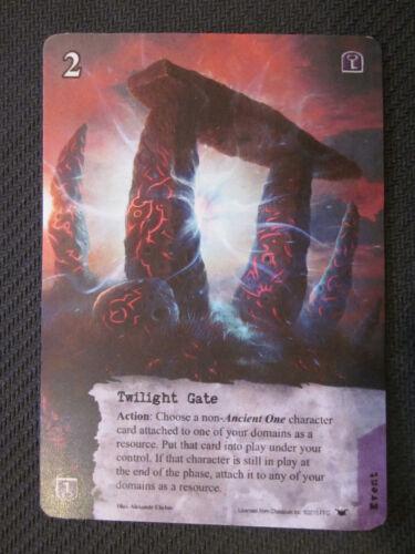 Twilight Gate Promo Call of Cthulhu LCG Fantasy Flight Spring 2015 Card
