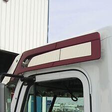 Freightliner Coronado 1997+ Stainless Steel Sunvisor Side Insert