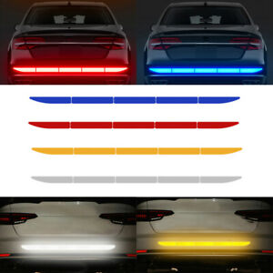 Car-Warn-Strip-Tape-Bumper-Safety-Stickers-Decals-Paster-Reflective-Accessories