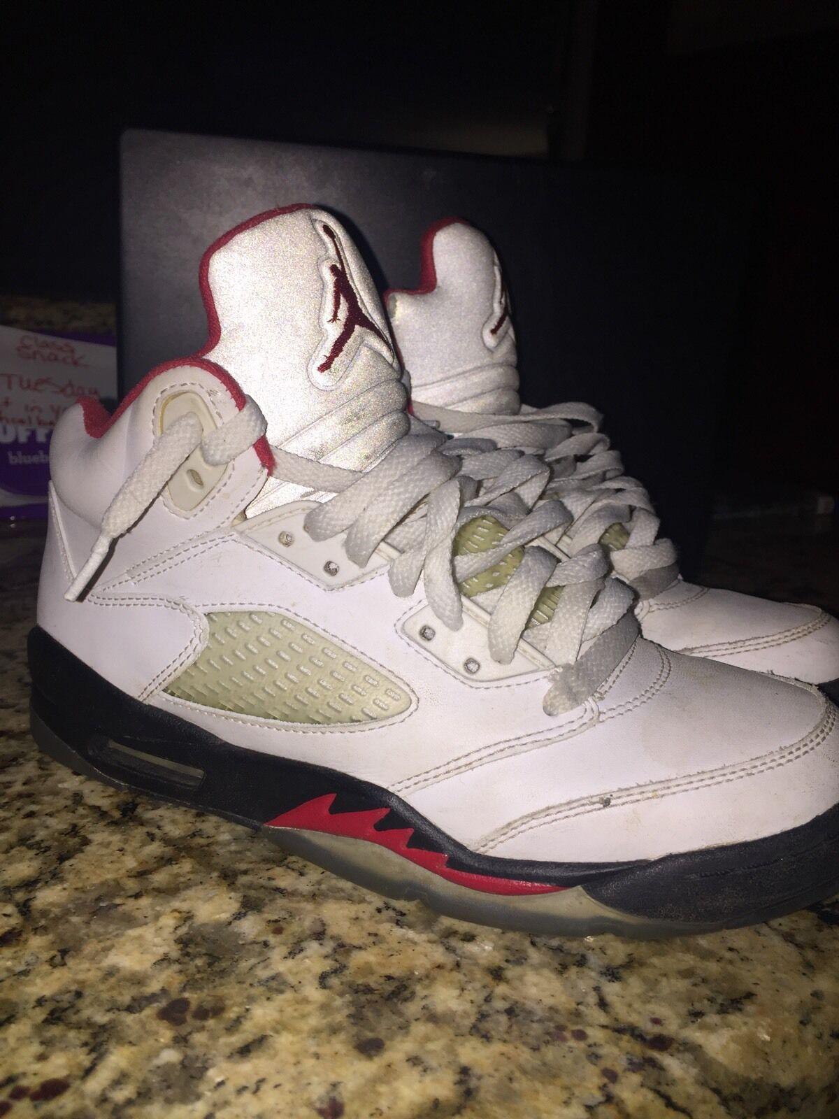 Jordan 5 Fire Red Size 6