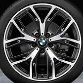 "BMW OEM F25 X3 F26 X4 542 Y Spoke 20"" Wheel Set Of 4 Brand New"
