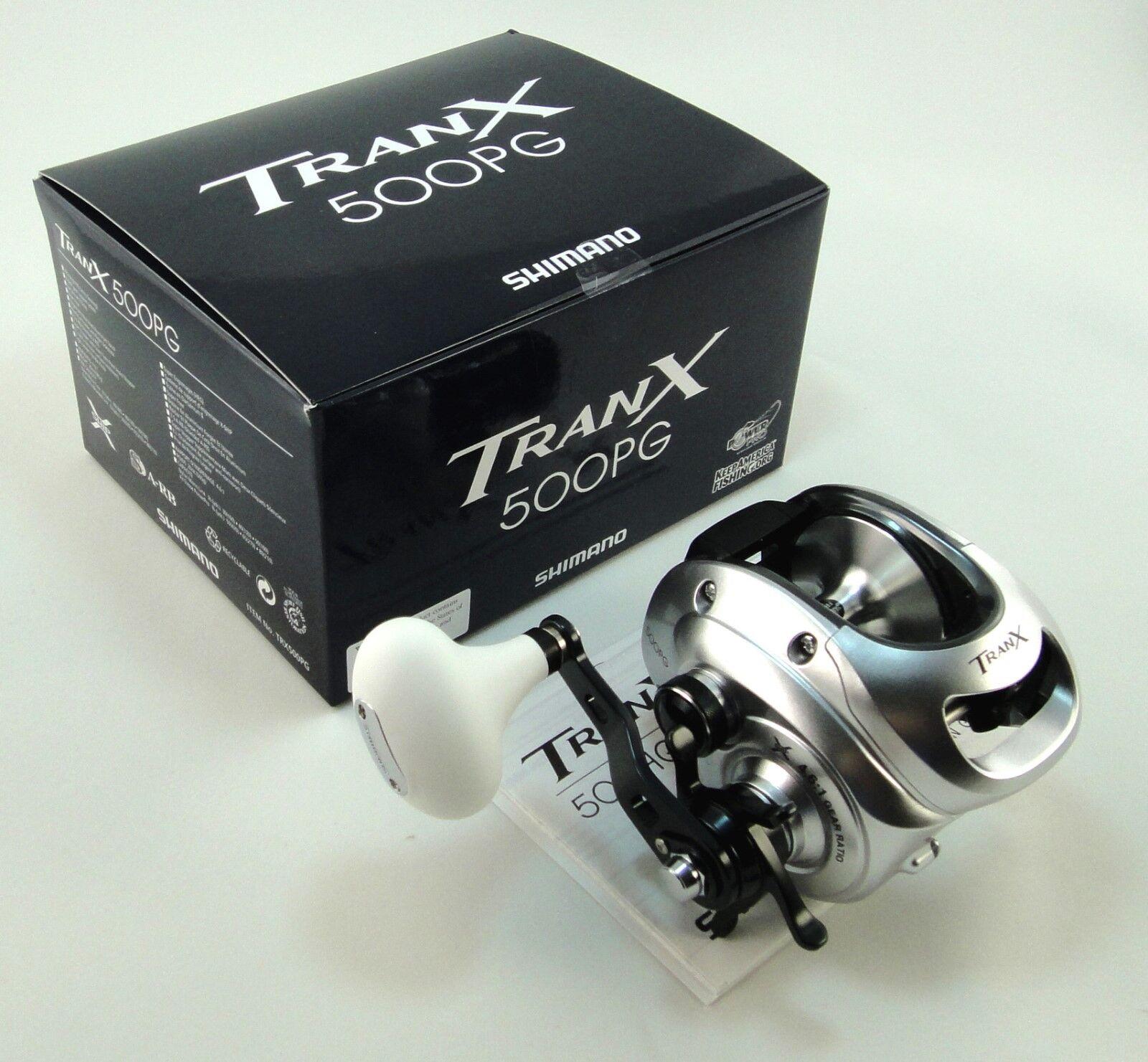 Nuevo TranX 500PG 500 PG SW Shimano Casting Reel   envío prioritario 1-3 días