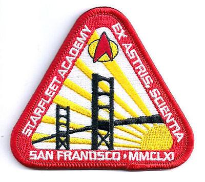 "Star Trek:Starfleet Academy San Francisco 3.5"" Logo Patch-Mailed USA(STPA-SFC-10"