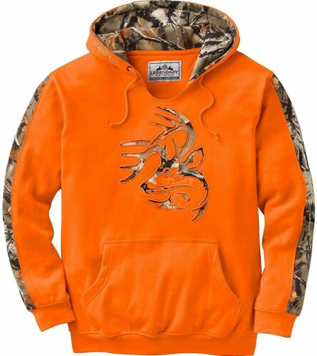Legendary Whitetails Men/'s Camo Outfitter Hoodie