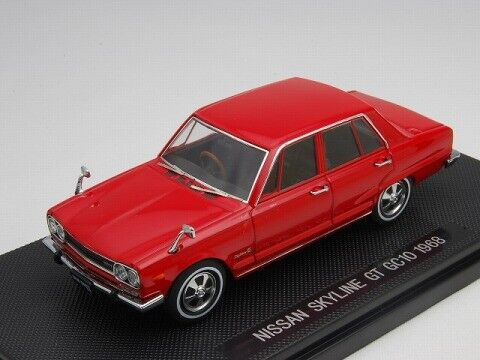 Ebbro 1 43 Nissan Skyline 2000GT GC10 1968 Red from Japan