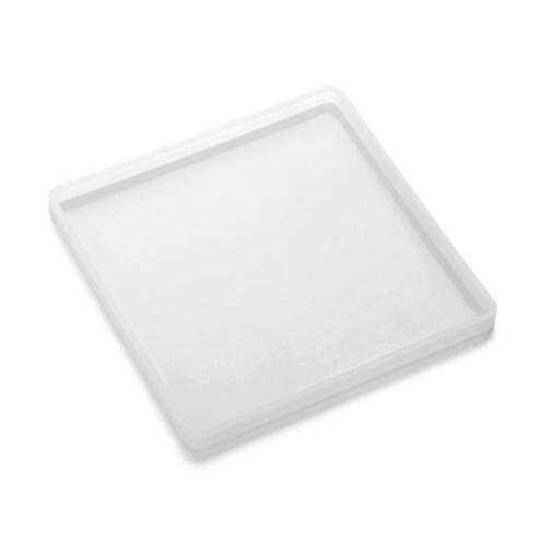 Agate Coaster Mold Jewelry Making Mould Epoxy Resin Casting Molds Square