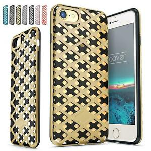 Urcover-Grid-Cell-Hard-Case-Cover-Shell-Mesh-Metal-Optics-glass-film