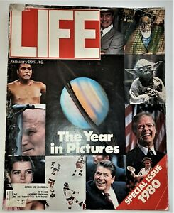 January, 1981 LIFE Magazine Hostages article FREE SHIPPING 1980s review Reagan