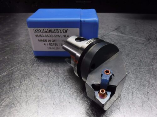 KM 50 Indexable Turning Head VM50-S50C-MWLNL4 LOC1847B Valenite VM