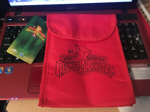 Mighty Morphin Power Rangers Collector's Box Lunch Bag 2019