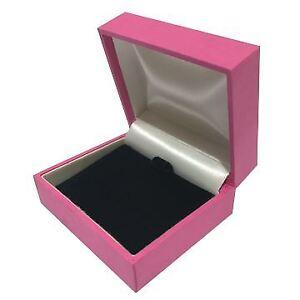 Details About Wholesale Bulk Jewellery Case Necklace Bracelet Gift Box Hot Pink Velvet Finish