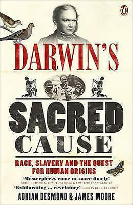 1 of 1 - Darwin's Sacred Cause: Race, Slavery and the Quest for Human Origins-ExLibrary
