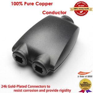 Toslink-Cable-Numerique-Optique-Audio-Splitter-2-way-Adaptateur-Fibre-Optique-Convertisseur