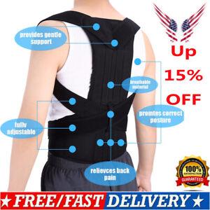 US-Posture-Corrector-Corset-Support-Back-Shoulder-Brace-Belt-For-Men-Women-2019