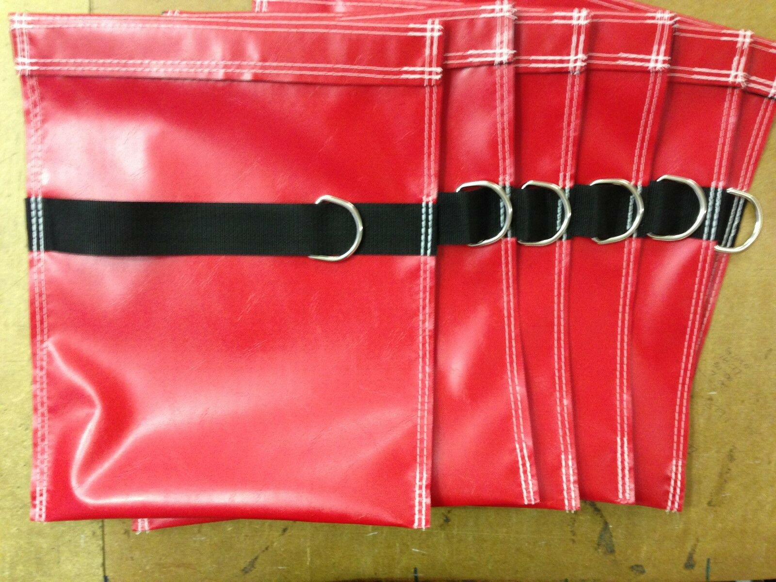 12 Bouncy Castle Castle Castle sand bags With D-ring And 12 Carabina Clips 042f71