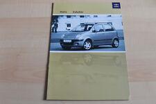 98381) Daewoo Matiz - Zubehör - Prospekt 04/2003