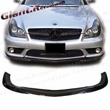 GH Type Carbon Fiber Front Extension Lip For W219 BENZ 06-10 CLS55 CLS63 Bumper