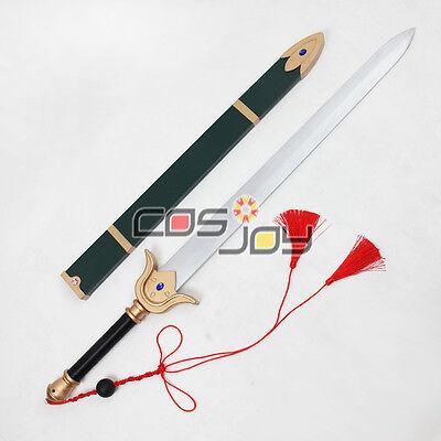"Cosjoy 41"" Cardcaptor Sakura LI SYAORAN Sword with Sheath PVC Cosplay Prop-0316"