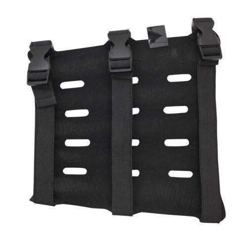 "SAS 8/"" Black Sleeve Wrap Armguard Archery Bow Range with 3-Strap Buckles"