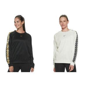 New Nike Womens Sportswear Logo Long Sleeves Gym Top T-Shirt Choose Size
