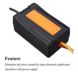 Wire D Penalties | Electricfilter Dc12v Power Supply Pre Wired Black Plastic Audio