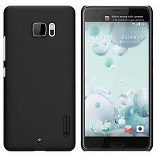 "For HTC U Ultra 5.7"" Nillkin Black Matte Hard Case Skin Cover + Screen Protector"