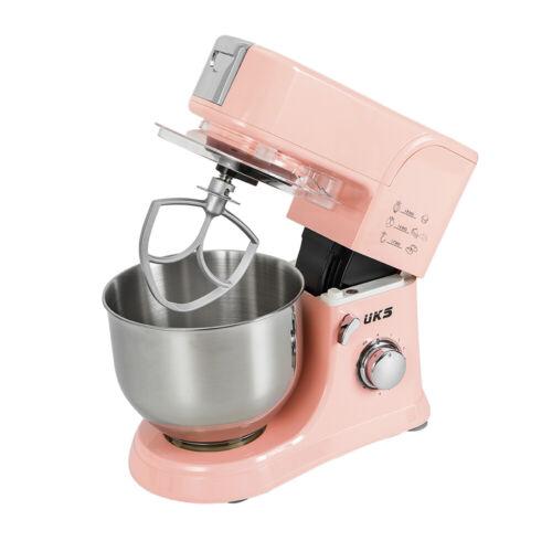 5,5 Liter Küchenmaschine 1000W Knetmaschine Rührmaschine 8 Stufen Teigmaschine