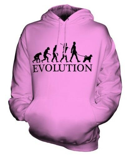 PORTUGUESE WATER DOG EVOLUTION OF MAN UNISEX HOODIE MENS WOMENS LADIES DOG GIFT